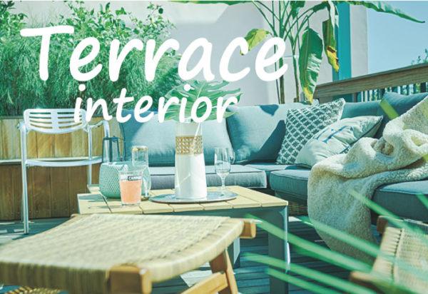 errace interior 退屈な日常にお別れ。お洒落なテラスインテリアでお庭を「非日常空間」に!テラスにもリビングにも使えるリラックスできる家具を集めました。